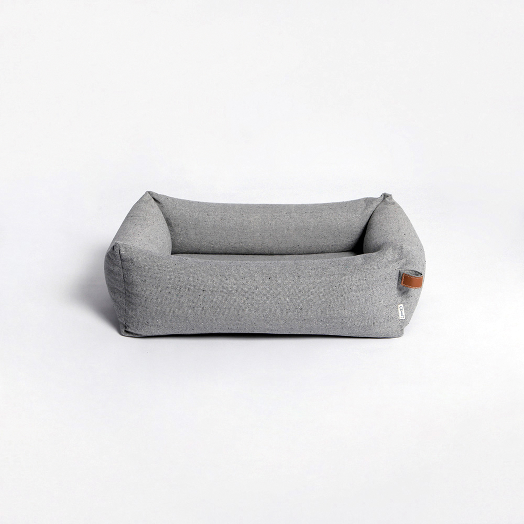 dog bed sleepy delux tweed grey -